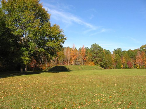 Bear Creek Mound, along Natchez Trace