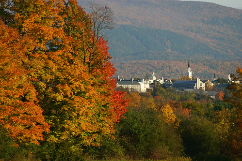 Middlebury College in mid-October | by bgblogging