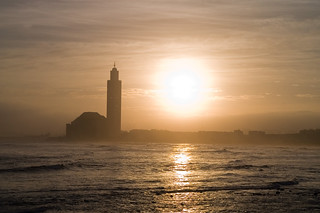 Sunshine on mosque Hassan II in Casablanca, Morocco | by Milamber's portfolio