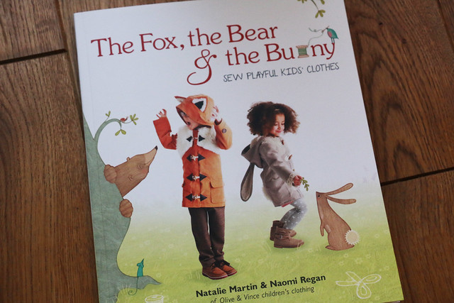 The Fox, the Bear & the Bunny Sewing book by Olive & Vince