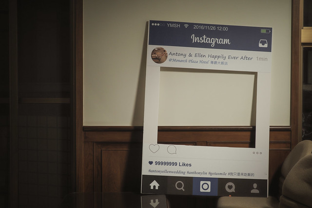 Instagram看板 | 婚禮佈置