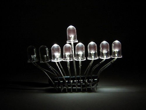 LED Menorah candles - 6 | by oskay