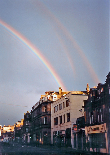 Inverness Triple Rainbow | by billadler