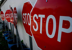 Stop Signs, High Springs | by adobemac