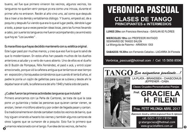 Revista Punto Tango 122 Diciembre 2016 - 07