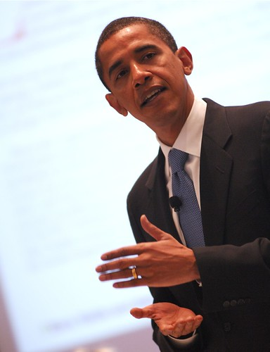 Sen. Barack Obama | by SEIU International