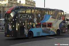 Wrightbus NRM NBFL - LTZ 1100 - LT100 - Fender American Elite Series - Hampstead Heath 24 - Metroline - London - 161203 - Steven Gray - IMG_9394