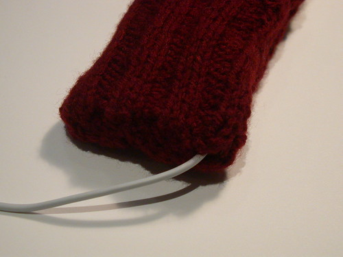 Knitting Pattern For Ipod Sock : Hand knitted iPod socks My mum, Brenda, knits these. For t? Flickr