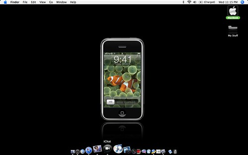 iPhone Desktop | by TerryJohnston