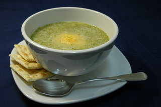broccoli soup | by bookgrl