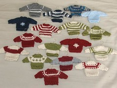 Sweater Ornaments | by abstract splotcHes