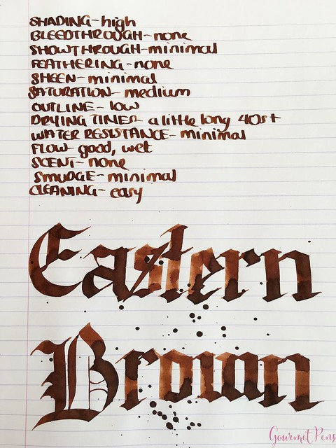 Ink Shot Review Bookbinders Eastern Brown @AndersonPens 4