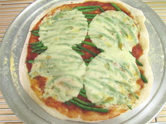green bean pizza | by 1lenore