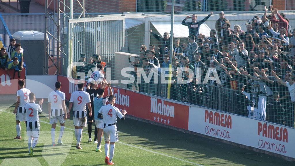Villarreal CF C 0-1 CD Castellón (08/12/2016), Jorge Sastriques
