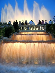 Barcelona - Fuentes de Montjuic / Fountains of Montjuic | by basajauntxo