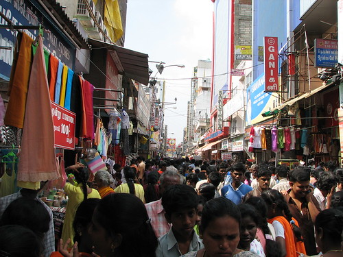 India - Sights & Culture - 001 - crowd shopping | by mckaysavage