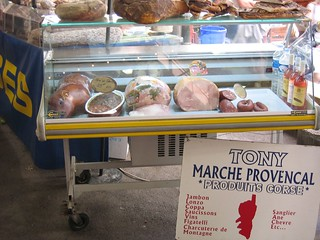 Marche provencal 4 inside the marche provencal mmmmeat shimown flickr - Marche provencal chambray ...