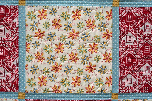 Baby Quilt - Quilting Detail My quilt guild has a program ? Flickr