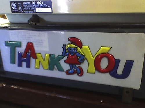 Smurfette says thank you | by joebeone
