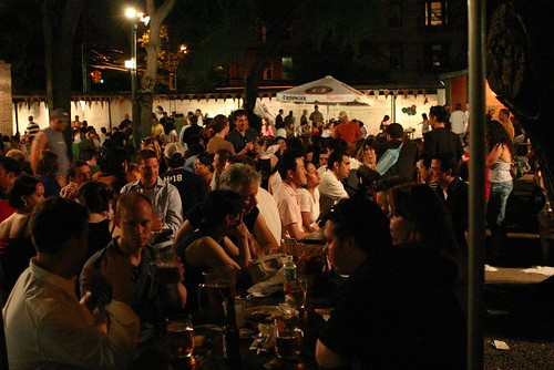Bohemian Beer Garden Friction Nyc Flickr