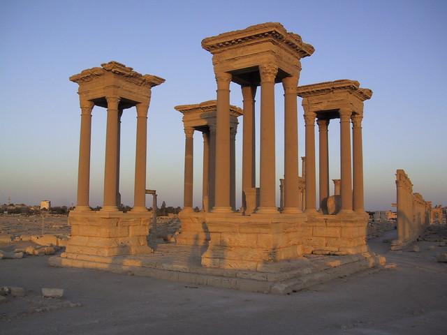 Roman ruins, Palmyra, Syria