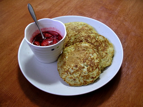 Oatmeal pancakes | by Blue Lotus