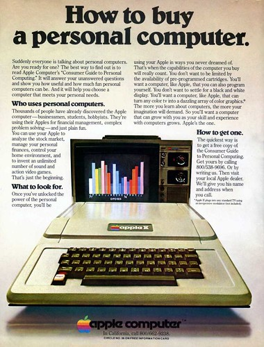 Apple II ad | by Aristocrat