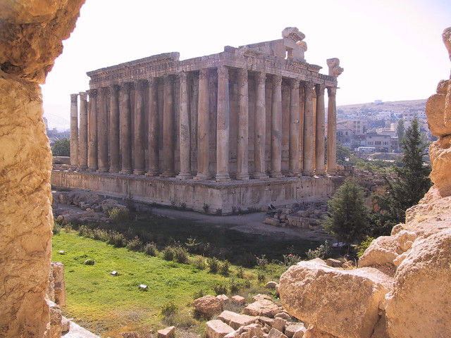 Roman ruins, Ballbek, Lebanon