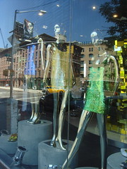 Fashion dummies reflecting the street | by margaret mendel