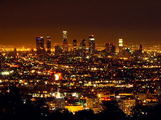 Los Angeles::Los Angeles Skyline | by mike_s_etc