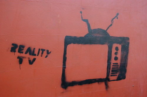 Reality TV - Graffiti | by leunix