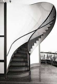 staircase (1839), Shaker Village, Pleasant Hill, Kentucky | by lumierefl