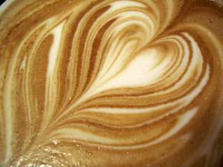 latte pour detail | by tonx