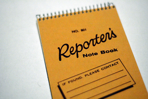 Reporter's Notebook, U.S. version | by niclas