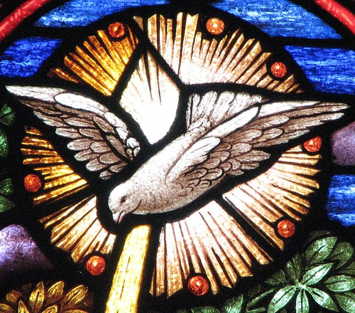 Holy Spirit dove window | by hickory hardscrabble