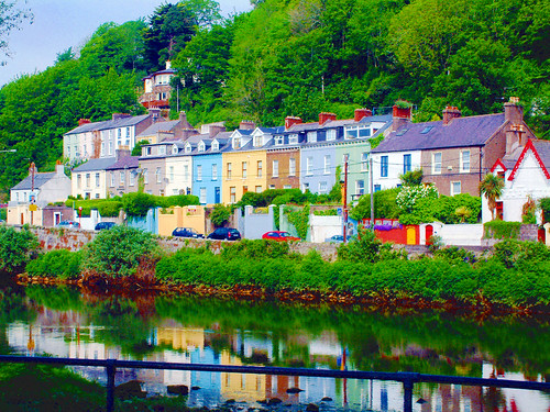 colourful cork houses (sunday's well road) | by silyld