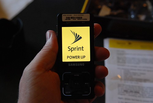 Sprint UpStage Phone | by hyku