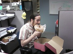 josh vs. the Voodoo Doughnuts Tex-Ass glazed | by Jesus H. Shatner