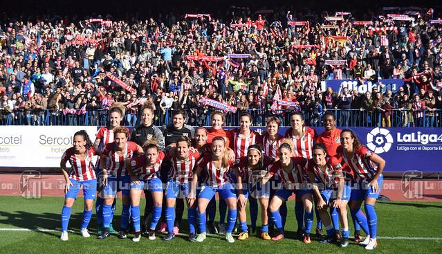 Atlético Femenino - FC Barcelona Femenino