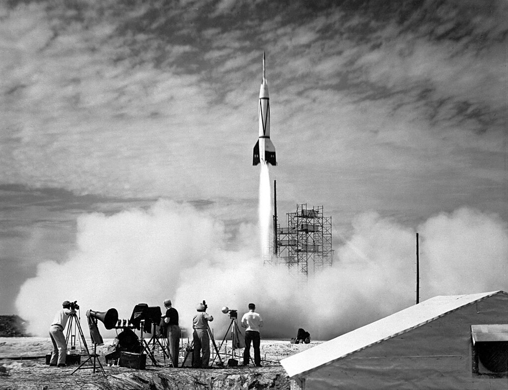First Launch from Cape Canaveral