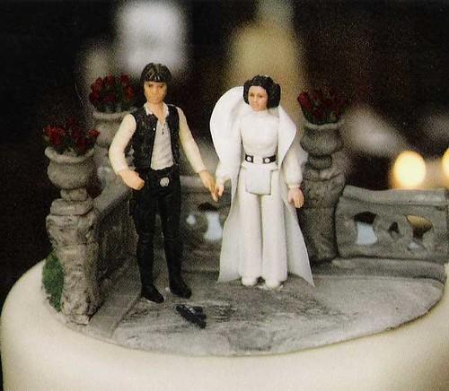 Star Wars Wedding Cake Han Amp Leia Larger Shot Of The