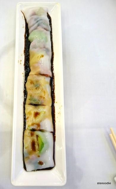 翠玉瓜叉燒腸粉
