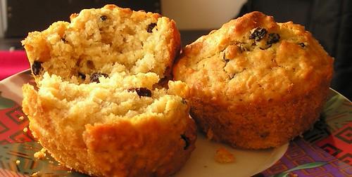 Ruby's Oatmeal Buttermilk Muffins