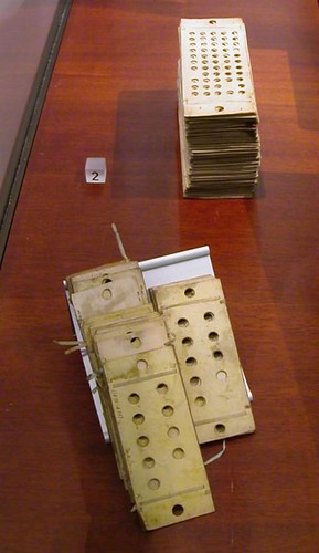Punched cards for programming the Analytical Engine, 1834-71 | by lorentey