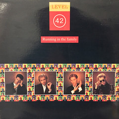 LEVEL 42:RUNNING IN THE FAMILY(JACKET A)