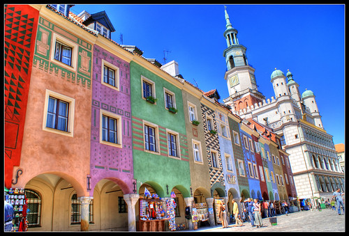 Colourful Poznan | by MaxymZ