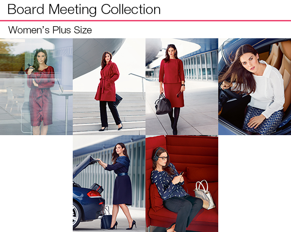 Board Meeting Plus Size Collection
