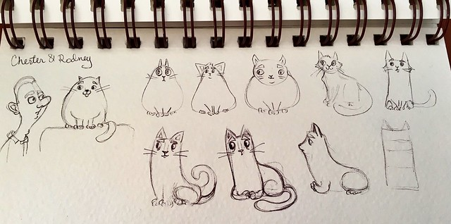 Bad gift: concept sketches