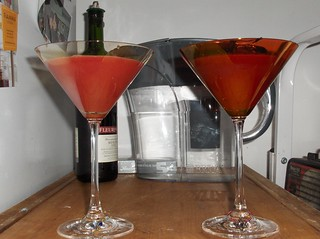 Blood Orange Martini | by pixxiestails