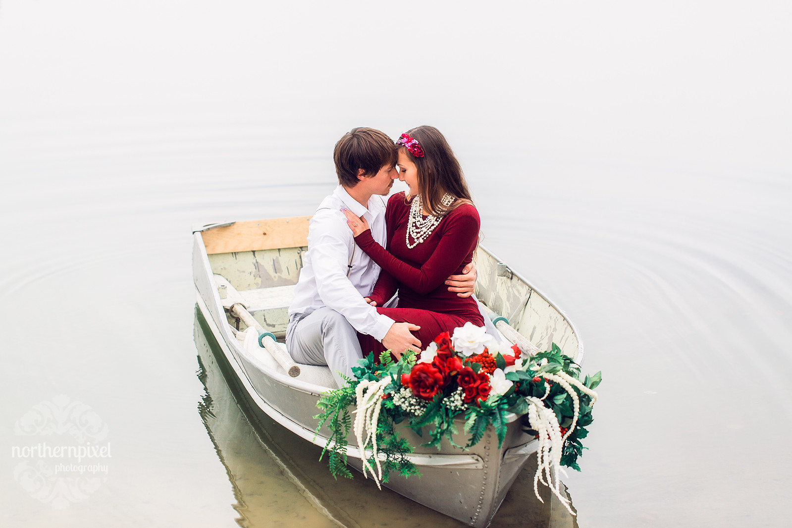Rowboat Engagement Session